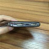 chargeur portatif de mobile d'interpréteur de commandes interactif de cuir de côté du pouvoir 5000mAh