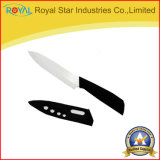 """5本の""""外装が付いている陶磁器のナイフの小型のフルーツの皮をむくナイフ"""