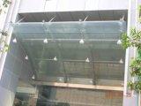 Coprire il baldacchino della struttura d'acciaio per costruzione