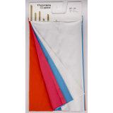 ワイシャツのための編まれた衣服T400の綿のサテンファブリック