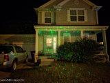 Luzes ao ar livre impermeáveis da paisagem do Natal do jardim do laser de Red&Green