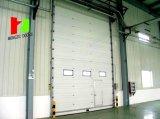 Da porta industrial aérea da garagem da qualidade perfil de alumínio de levantamento vertical industrial (Hz-FC035)