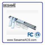 표면에 의하여 거치되는 양쪽으로 여닫는 문 자석 자물쇠 (SM-280D)