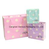 Оптовый цветастый бумажный подарок кладет в мешки (BG5020)