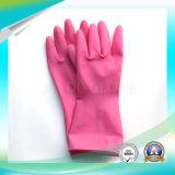 Anti Acid Limpieza de guantes impermeables de látex con alta calidad