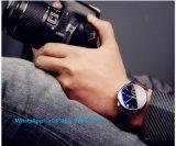 Relógio requintado dos homens de quartzo com a cinta de couro genuína Fs559