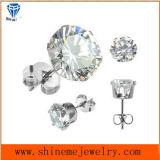 Серьга нержавеющей стали ювелирных изделий Shineme одиночная каменная (ER2675)