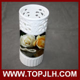 Decoración personalizada de sublimación cerámica jarrón