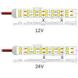 Tira elevada do diodo emissor de luz 120LEDs do CRI SMD 5050 do UL