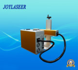 Máquina de la marca del laser de la fibra del precio de calle para la marca de color