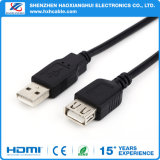 Usine de Shenzhen 3.3FT AM au câble usb de prolonge de FM
