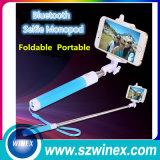 Palillo atado con alambre Monopod audio de Selfie Selfie del alambre de Wirelesscontrol