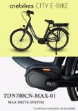 Bici eléctrica del camino de mecanismo impulsor de Bafang motor máximo del sistema del MEDIADOS DE con el sistema de la torque 250W
