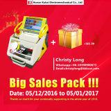 Heißer Verkauf! CER anerkannte vollautomatische verwendete doppelte Schlüsselcode-Ausschnitt-Maschine des Portable-Sec-E9 mit mehrfacher Sprache