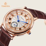 Merk van de douane nam Gouden Roestvrij Analoog Horloge 71146 van de Dames van de Chronograaf van het Horloge toe