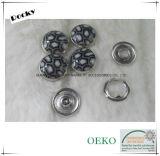 Perlen-Schutzkappen-Zinke-Schnellbefestigungsteil-Taste für das Baby-Tragen