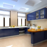 Lacquerの現代Fashion Kitchen Cabinet