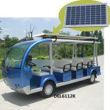 太陽電池パネル(DEL6112K、11seat)が付いている電気観光バス