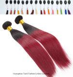 """Ombre colore as extensões 28 do cabelo da queratina #60 """" 30 """" 32 """""""