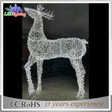Indicatori luminosi bianchi della renna di natale quadrato esterno impermeabile