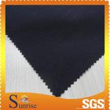 Capa Herringbone 100% de la película de la tela de la tela cruzada del algodón (SRSC 681)