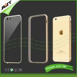 Ясное iPhone Rjt-0174 аргументы за мобильного телефона рамки TPU+Metal