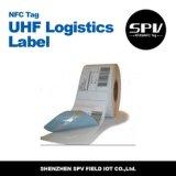 estrangeiro H4 do Tag da logística da freqüência ultraelevada de 860-960MHz RFID