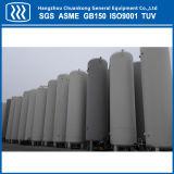 El tanque de almacenaje de acero del líquido criogénico del petrolero de la certificación de ASME