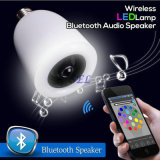 Lampadina stereo dell'altoparlante LED di E27 mini Bluetooth per Smartphone