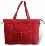 Il sacchetto di Tote della tela di canapa di modo, cotone ha stampato il sacchetto di acquisto