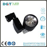白くか黒いハウジング30W Dimmableの穂軸LEDトラックライト保証3年のTracklight