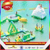 Riesiger aufblasbarer sich hin- und herbewegender Wasser-Park, kommerzielles aufblasbares Wasser-Park-Schwimmen