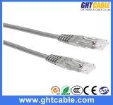 cable del remiendo de Al-Magnesio RJ45 UTP Cat5 de los 0.5m/cuerda de remiendo