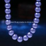Fabrik kundenspezifische Glanz-Perlen-Halskette