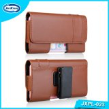 Universal Belt Clip Leather Flip Holster Estojo para celular