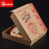 Wholesale Kraft Paper Branded Pizza Box 나르십시오/밖으로 Take