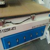 Máquina do router do CNC de China 3D para a estaca da placa e porta moldada com tabela do vácuo