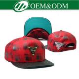 Leopard Flat Brim 6 Panel Baseball Caps