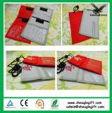 Poseedor de una tarjeta de identificación de nylon de la alta calidad de encargo con la pluma y la tarjeta de la identificación