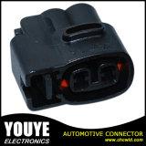 640605-5 PA66 Ket 2 Pin 철사 하네스 여성 방수 자동 연결관