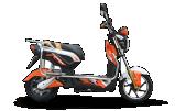 Motorino elettrico con il pedale 60V