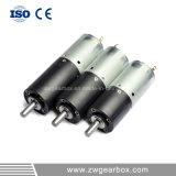 24 voltage 0.1 aan 6.0W de Motor van de Versnellingsbak van de Macht gelijkstroom van de Output