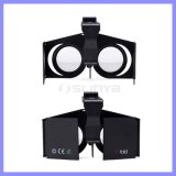 Small super Mini 3D Google Cardboard Virtual Reality Foldable Vr Glasses Box Caso para o iPhone 6s Plus Samsung S6 S7 Edge Note 4 5 Mobile Phone
