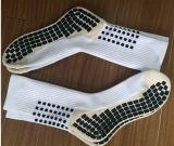 Calzini respirabili antisdruccioli di calcio del commercio all'ingrosso di modo di alta qualità