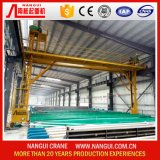 grue 1+1ton pour l'usine de anodisation de profil en aluminium