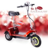 Front Suspension.를 가진 3 바퀴 Foldable Electric Bike