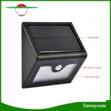 Réverbère imperméable à l'eau de jardin de support de mur des lampes de détecteur de mouvement de la lampe PIR de garantie d'énergie solaire 28PCS DEL