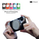 iPhoneのための携帯電話のSmartphoneレンズの写真の立体画像のカメラレンズの裏表紙のケースプラス6 6s 6