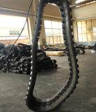 Pista della gomma dei pezzi meccanici della costruzione