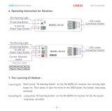 Ltech 새로운 DMX 손잡이 위원회 LED RGB 관제사 Dx63